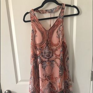 NWT Altar'd State Open Back Swing Dress